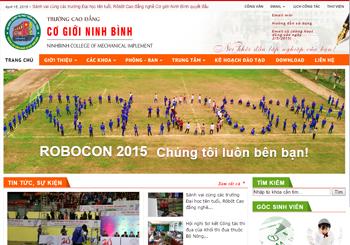 Trường CĐN Cơ giới Ninh Bình