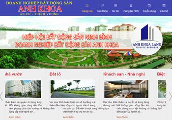 Sàn giao dịch Bất động sản Ninh Bình
