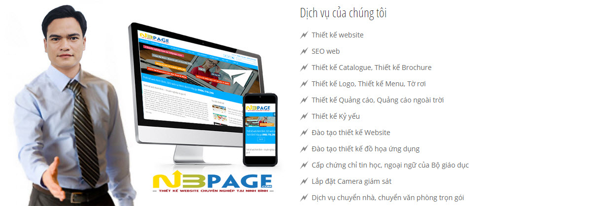Thiet ke web Ninh Binh, Thiết kế web ninh bình