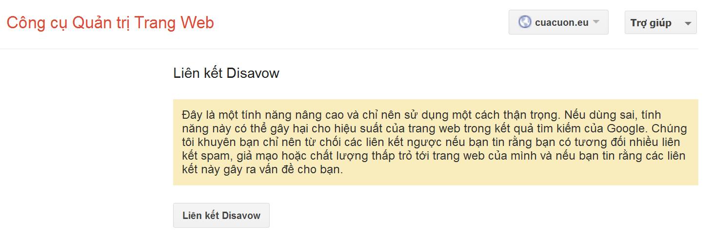 lienketDisavow