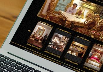 Website Đồ gỗ, nội thất cổ điển La Xuyên