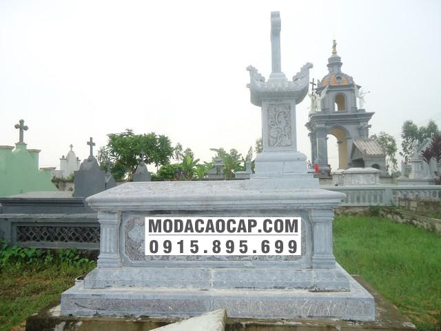 Mo banh da-Mộ bành đá công giáo