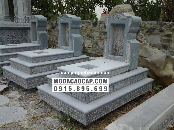 Mo banh da-Mộ bành đá 3 cấp, mộ đá 3 cấp